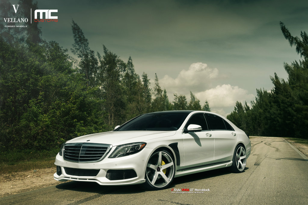 Brabus Mercedes-Benz S550 On Vellano Wheels - Rides Magazine