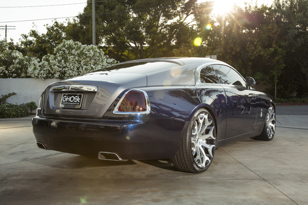 Desean Jackson S Rolls Royce Wraith On Forgiato Wheels By