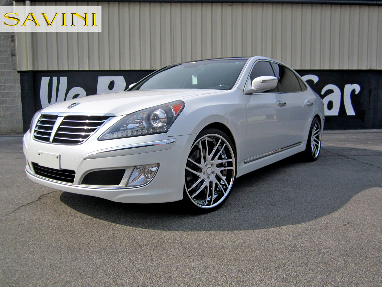 Hyundai Equus On Savini Wheels By Butler Tire Rides Magazine