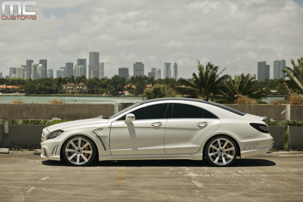 Wald Mercedes Benz Cls63 On Savini Wheels By Mc Customs Rides Magazine