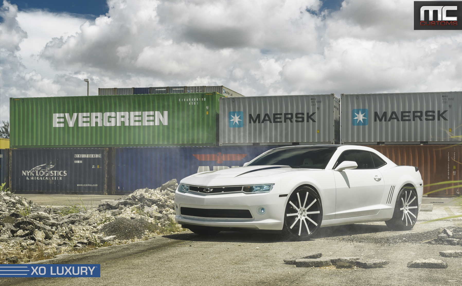 2014 Chevrolet Camaro Rs On Xo Luxury Wheels Rides Magazine