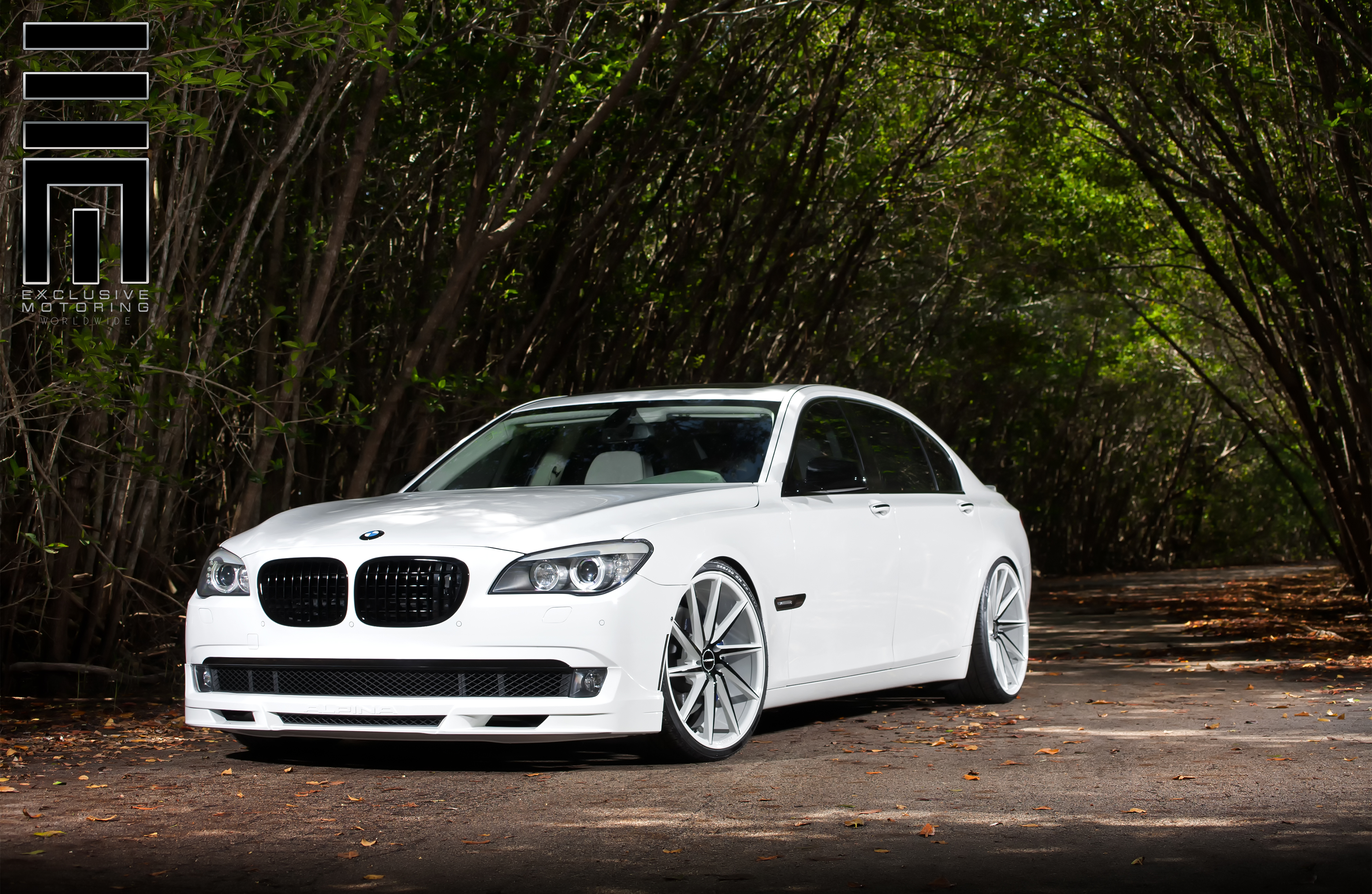 2014 Bmw 7 Series On Vossen Cvt Wheels Rides Magazine