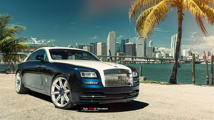 Rolls-Royce, Wraith, MC Customs, Vellano, Felix Hernandez