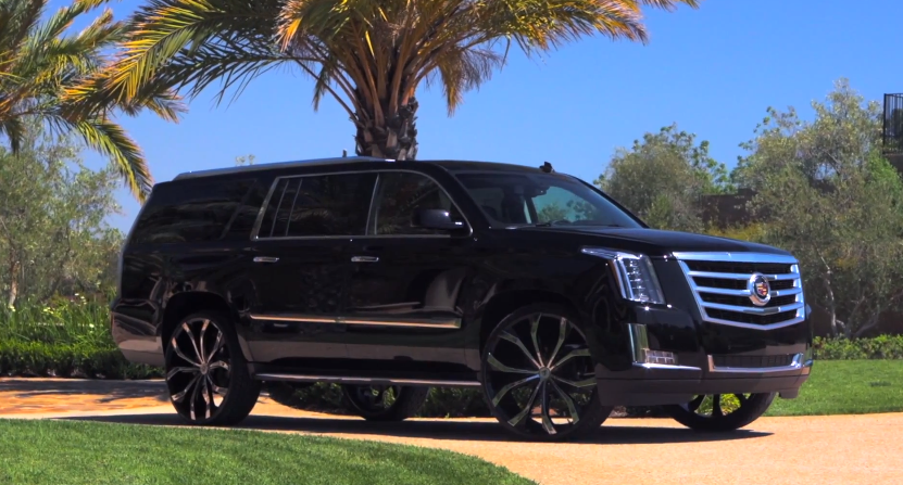 2015 Cadillac Escalade On Lexani Wheels Video Rides Magazine