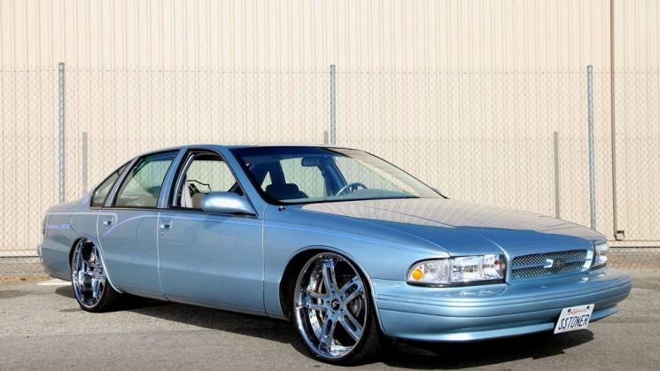 1996, Chevrolet, Chevy, Impala, Bubble, Donk