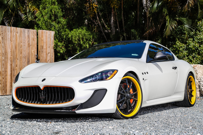 Maserati Granturismo Mc On Forgiato Wheels Rides Magazine