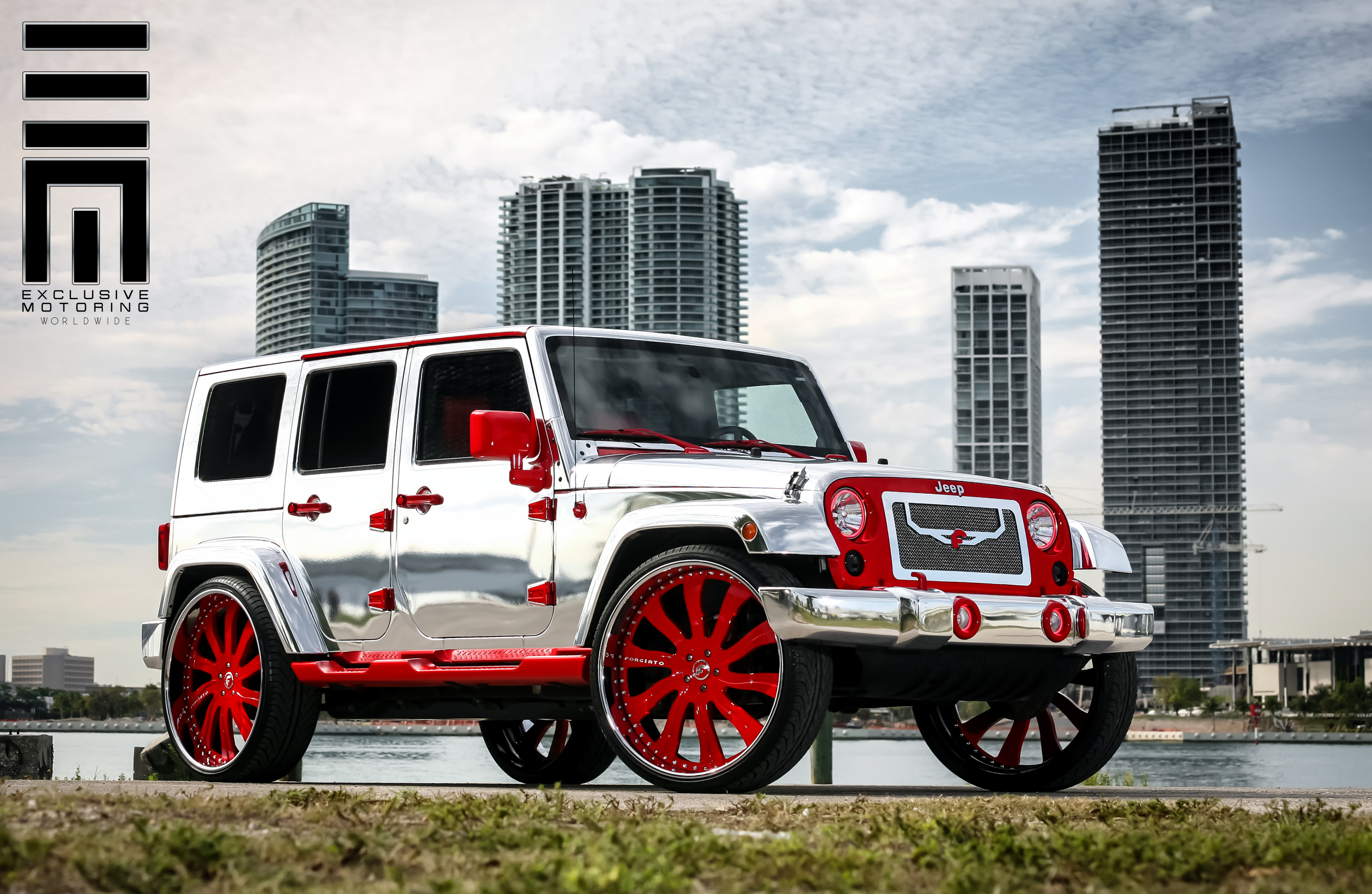 Chrome 2013 Jeep Wrangler By Exclusive Motoring Rides