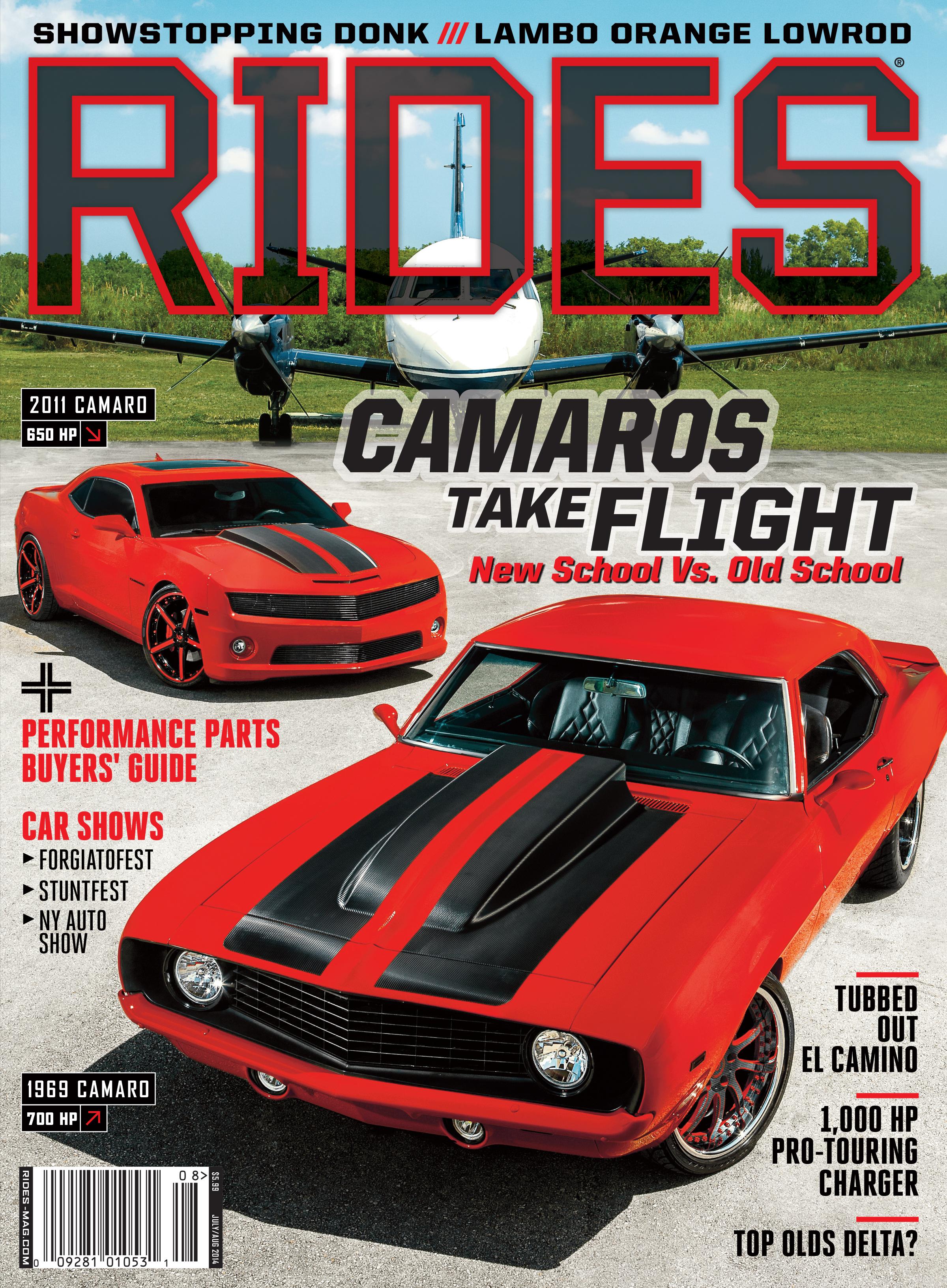 Rides July Aug 2014 Cover Revealed Rides Magazine