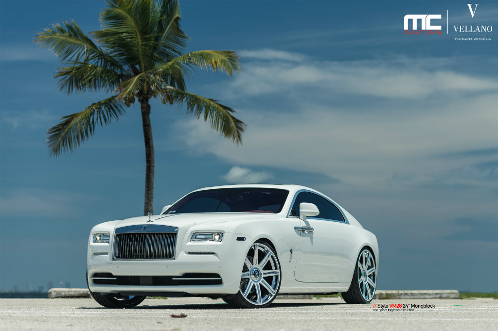 Robinson Cano S Rolls Royce Wraith On Vellano Wheels By Mc Customs Rides Magazine