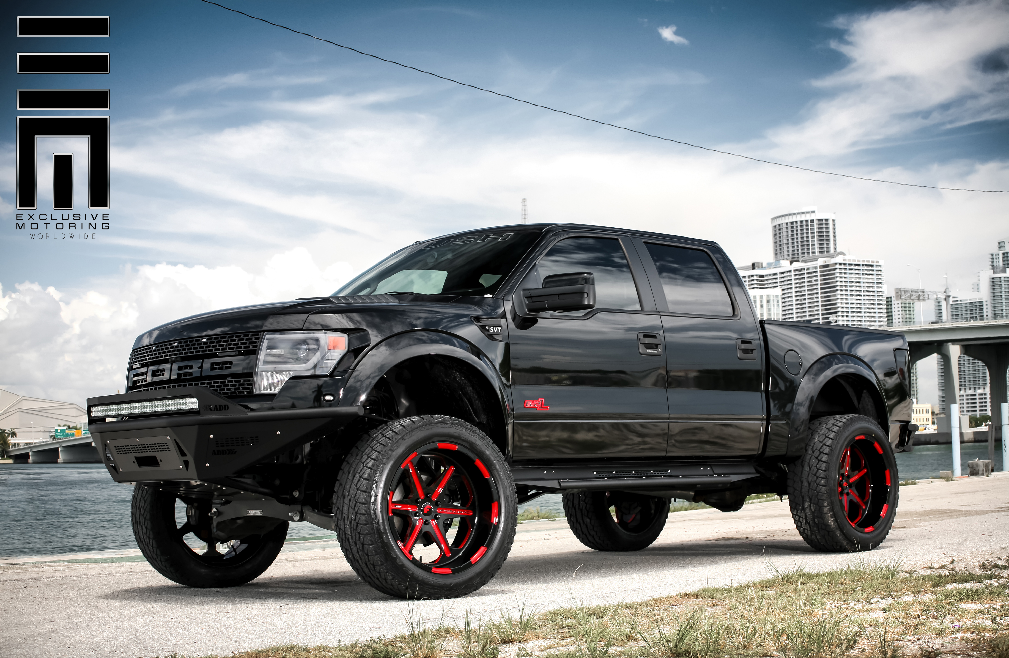 Jon Bones Jones Roush Ford Raptor SVT By Exclusive Motoring
