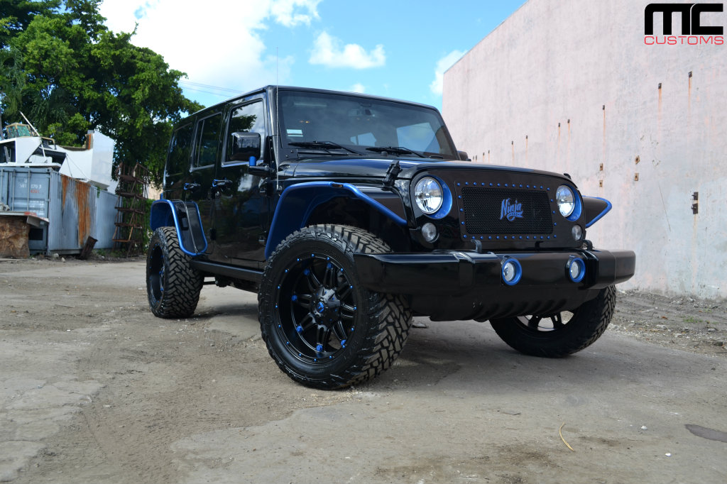 Fuel Wheels Jeep Wrangler Unlimited - Rides Magazine