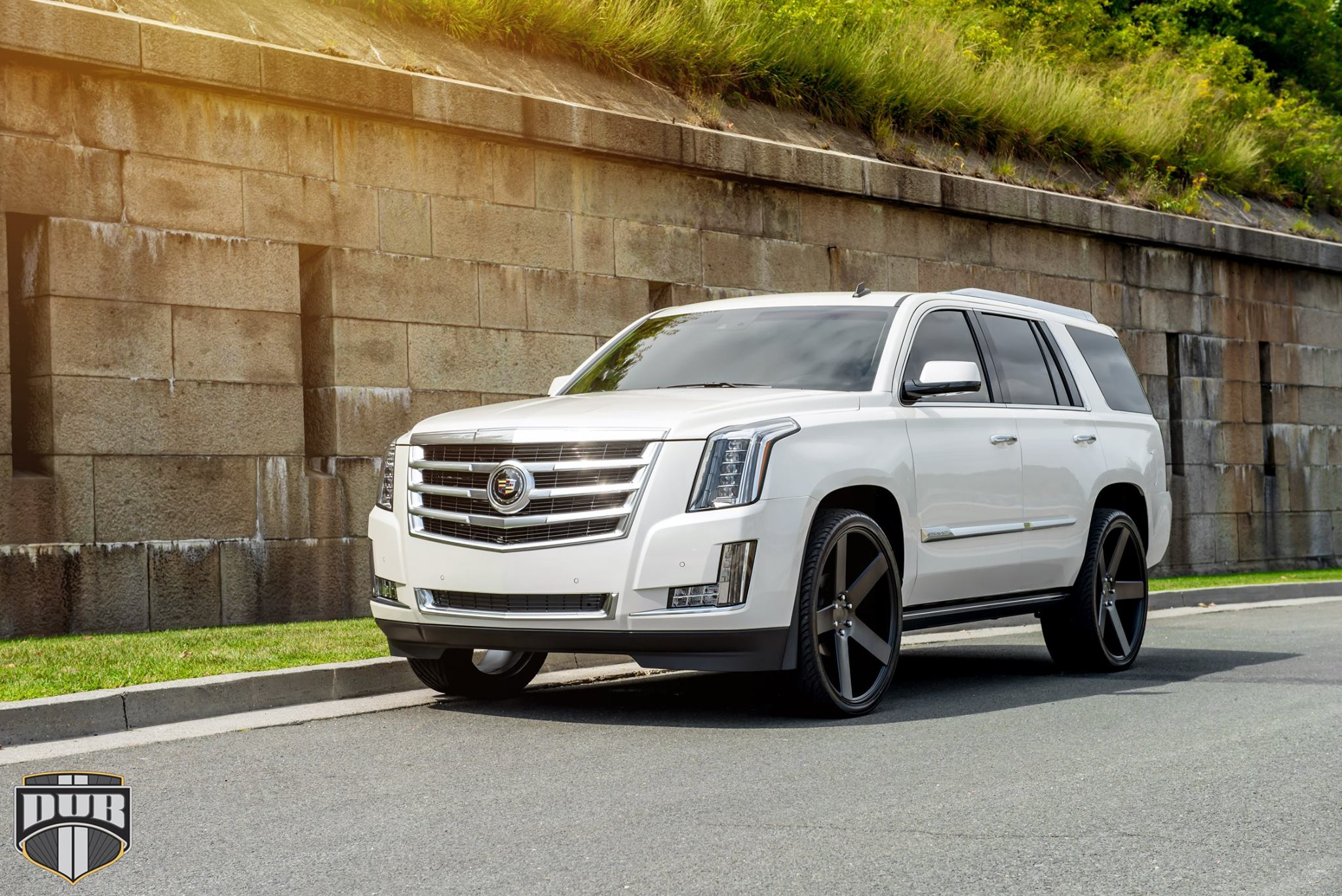 2015 cadillac escalade on 26 inch dub baller wheels rides magazine. Black Bedroom Furniture Sets. Home Design Ideas