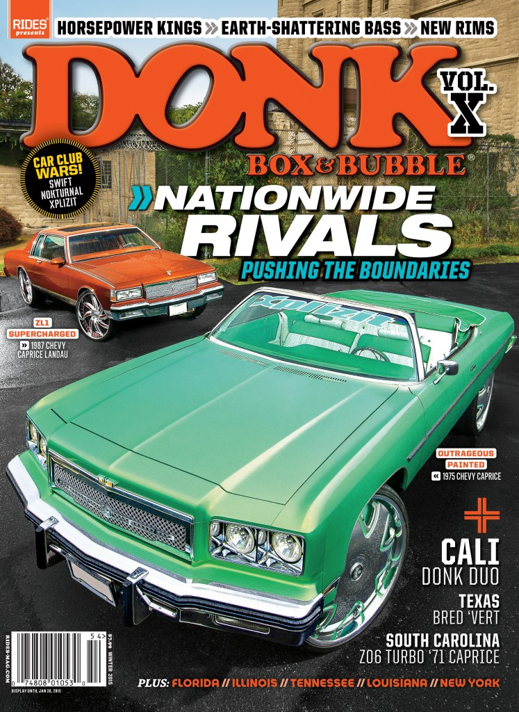 Donk Box Amp Bubble Volume X Cover Revealed Rides Magazine