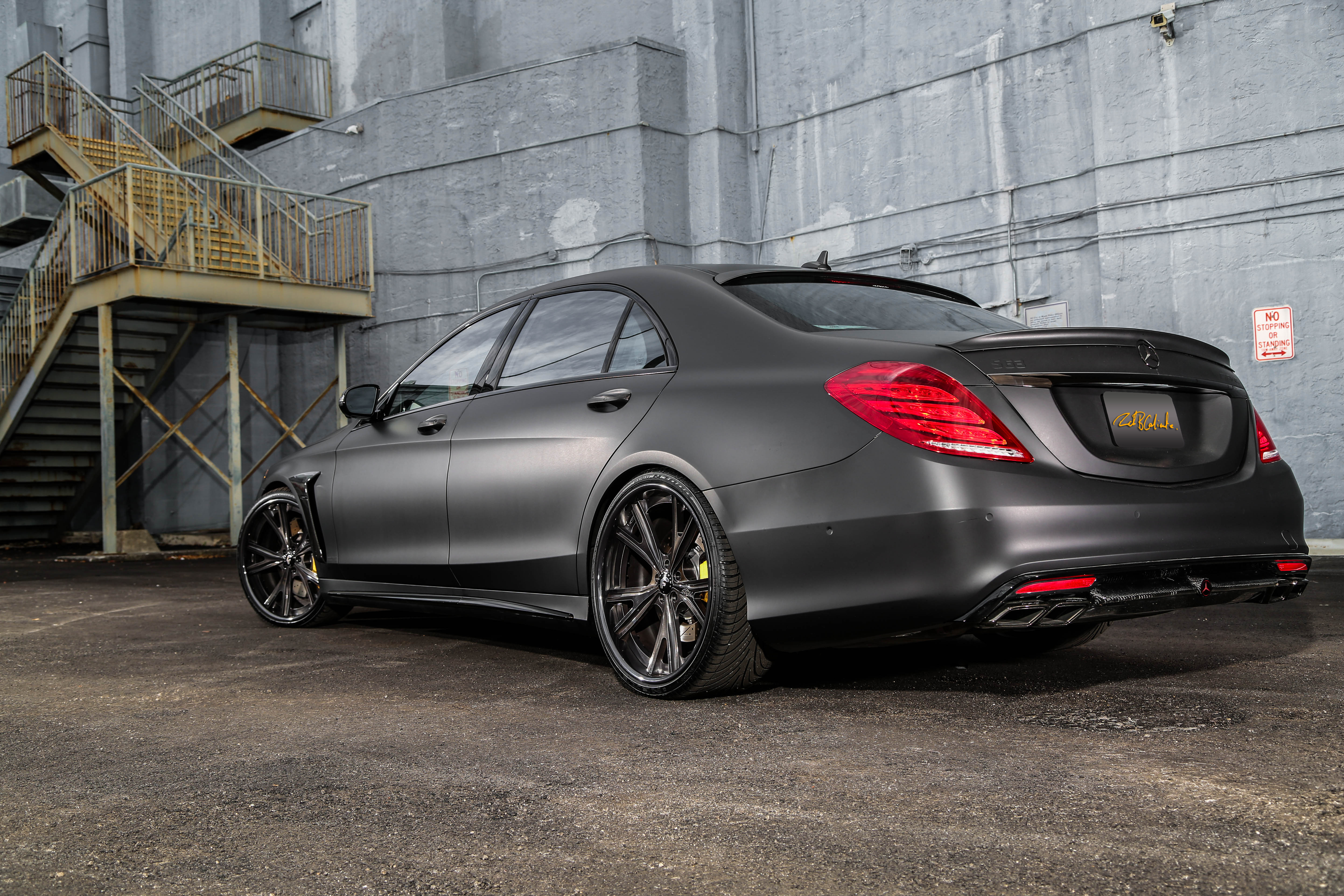 Mercedes Benz S63 Amg W 23k Gold Calipers Rides Magazine