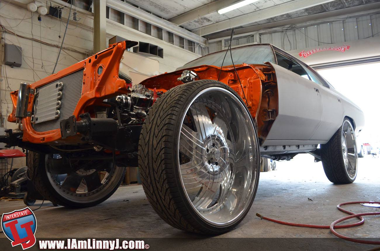 1975 Four-Door Donk On Lexani Forged 32-Inch Wheels by 813 ...