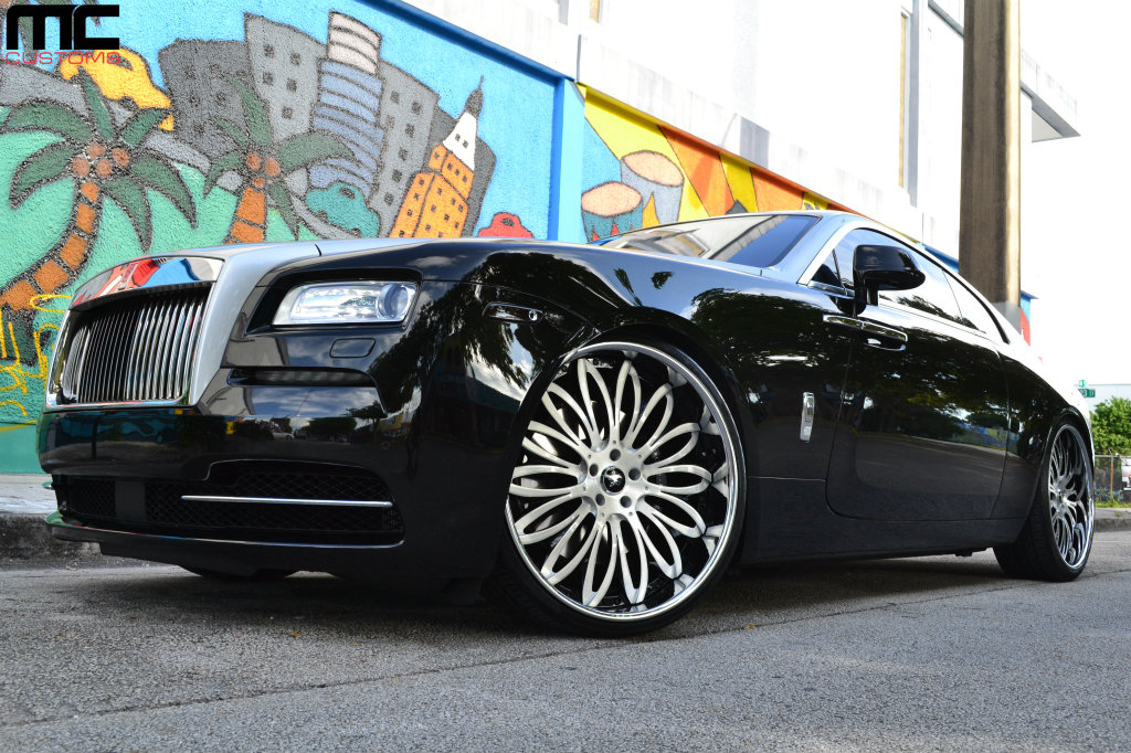 Rolls Royce Wraith On 24 Inch Lexani Forged Wheels Rides