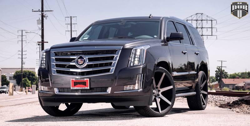 2015 Cadillac Escalade On 26-Inch DUB Future Wheels ...
