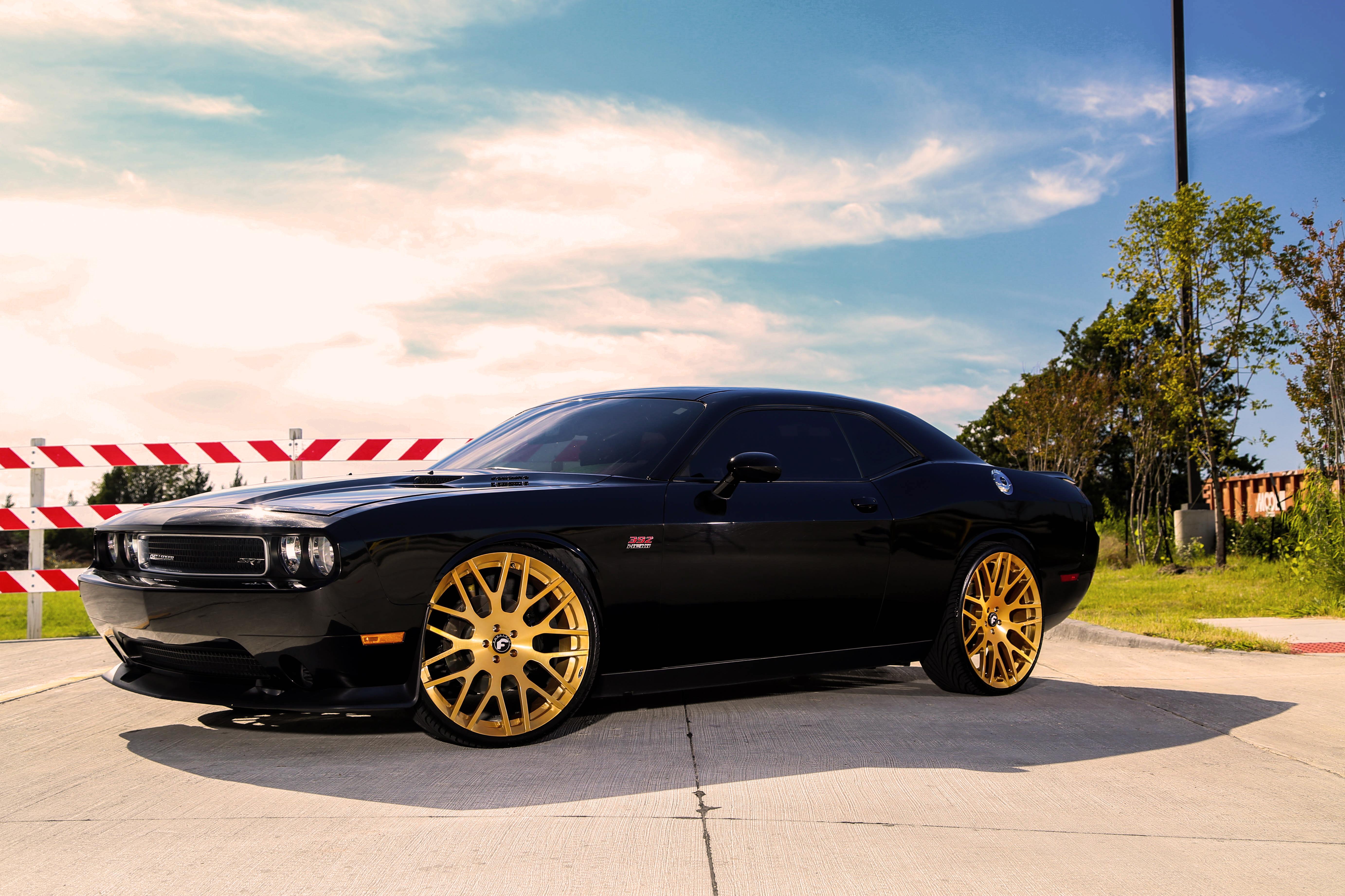 Dodge Challenger Hellcat Blue >> Dodge Challenger SRT On Forgiato Freddos - Rides Magazine