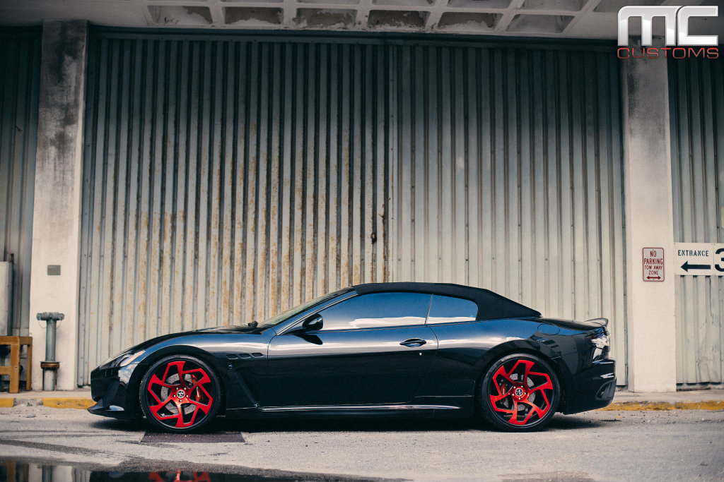 Maserati GranTurismo Convertible On Vellano Wheels By MC