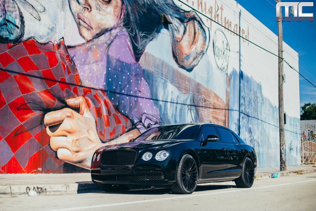 2015 Camaro Convertible >> Bentley Flying Spur On 22 Inch Savini Wheels By MC Customs - Rides Magazine
