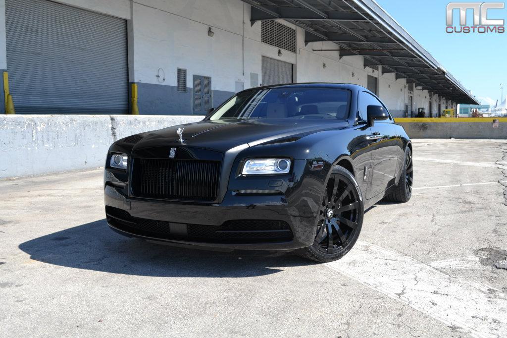 Rolls Royce Wraith Rockin Forgis Rides Magazine