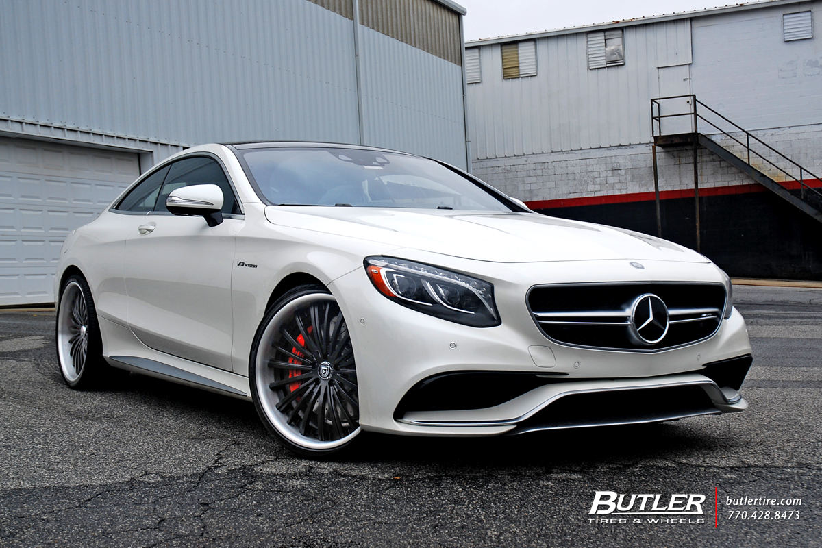 2015 Mercedes S63 Amg Coupe On 22 Inch Lexani Wheels By