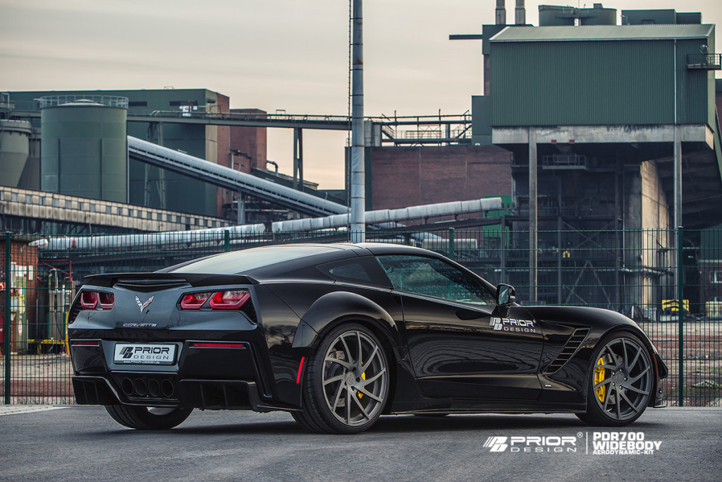 Corvette C7 Stingray Wide Body Kit From Prior Design