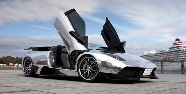 Chrome Lamborghini Murcielago Lp640 On Lexani Forged Wheels Video