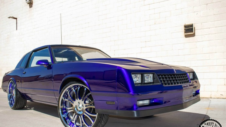 Kandy Monte Carlo SS On 24 Inch Asanti Wheels By YoungBlood Kreations Video