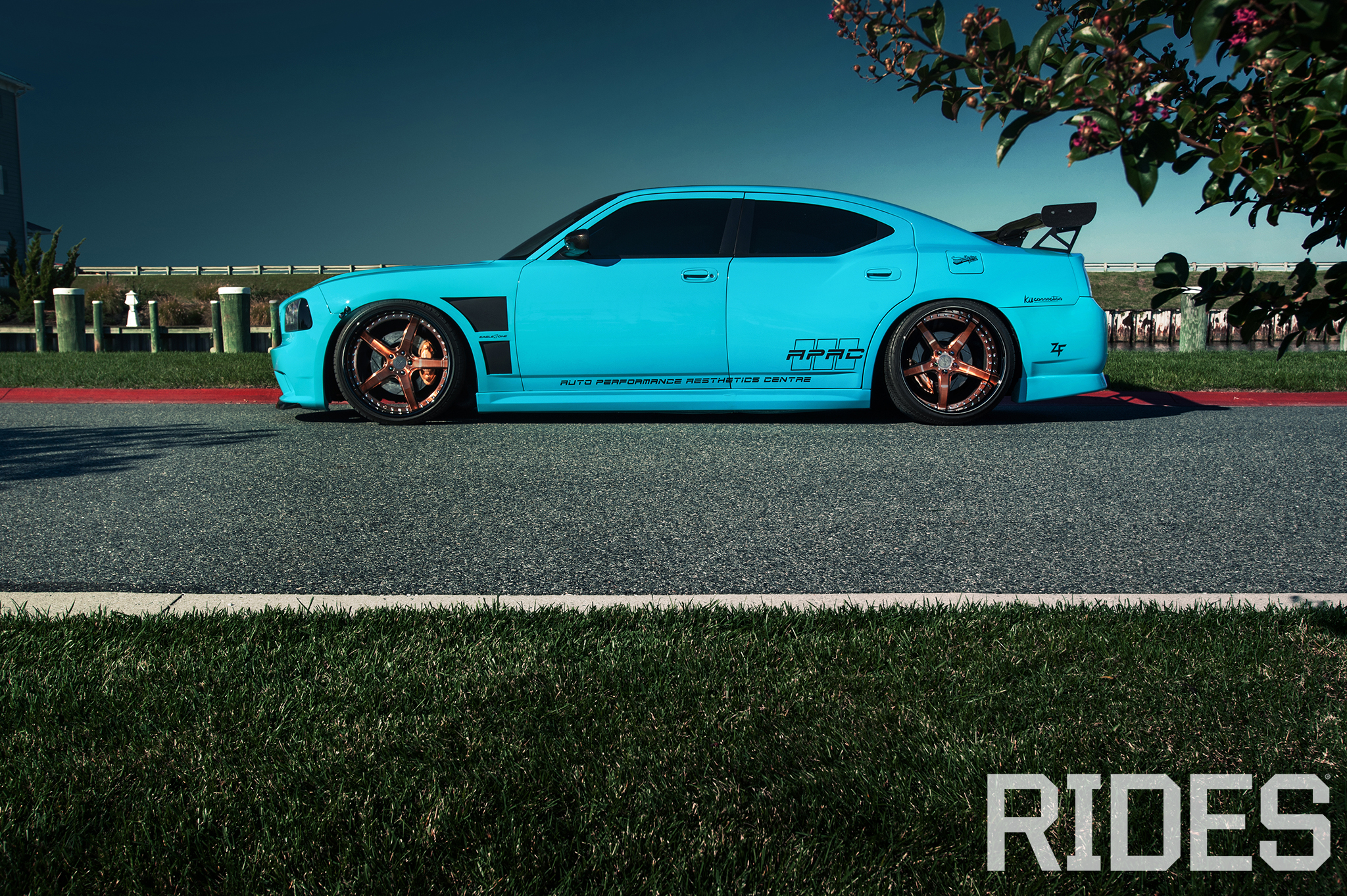 Blue Blooded 2006 Dodge Charger Srt8