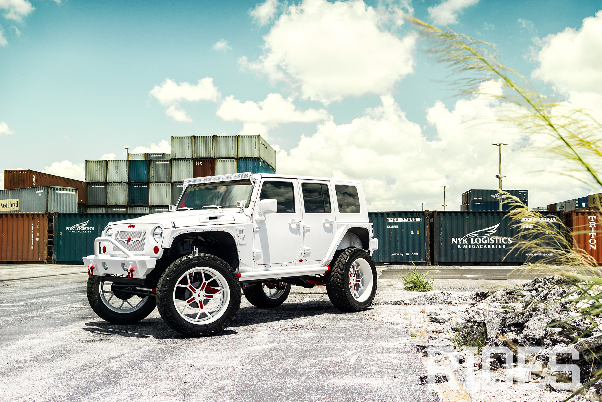 H Town Elevated 2010 Jeep Wrangler Unlimited Rides Magazine