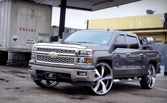 2017 Chevy Silverado On 30 Inch Amani Forged Wheels Video
