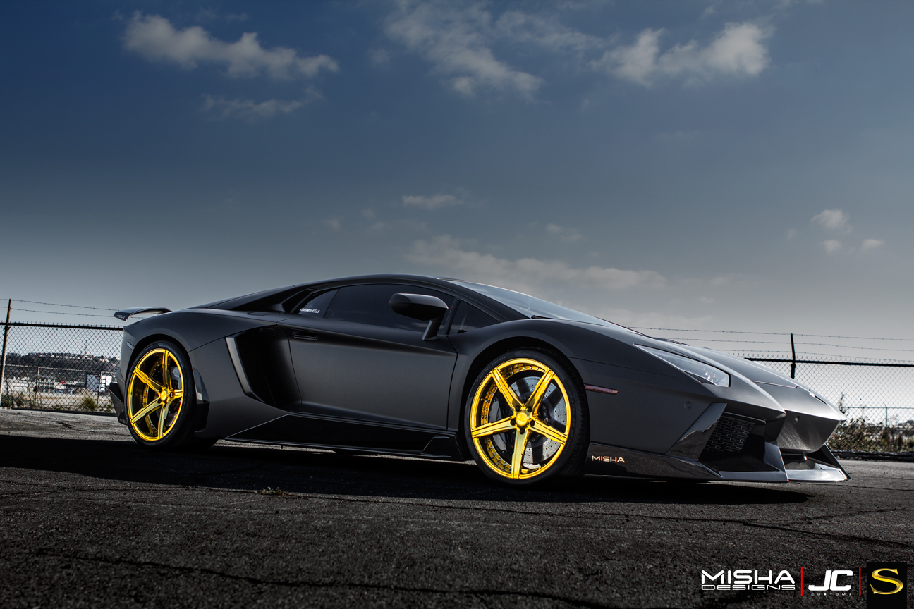 chris brown 39 s matte black lamborghini aventador rides. Black Bedroom Furniture Sets. Home Design Ideas