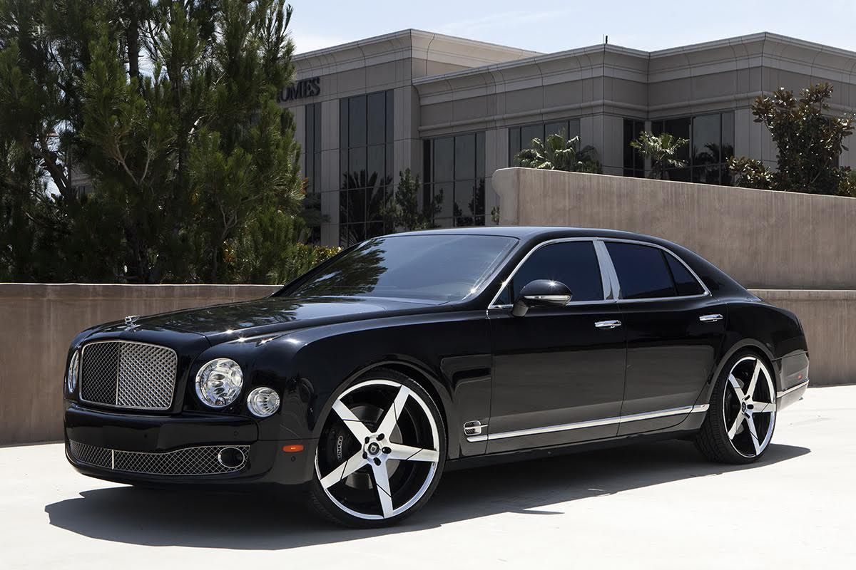 Bentley Mulsanne On 24 Inch Lexani Wheels Pics Amp Video