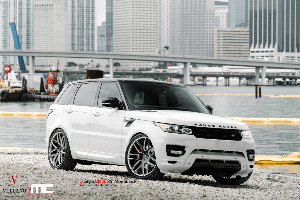 2015 Range Rover Sport On 24 Inch Vellano Wheels By Mc Customs Rides Magazine