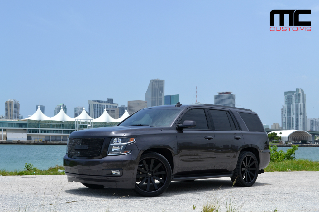 Chevy Tahoe On 24-Inch Gianelle Wheels By MC Customs ...