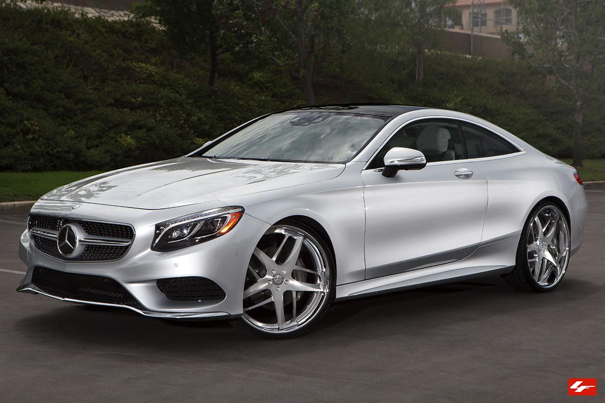2016 Mercedes Benz S550 Coupe On 24 Inch Lexani Wheels Pics Vid