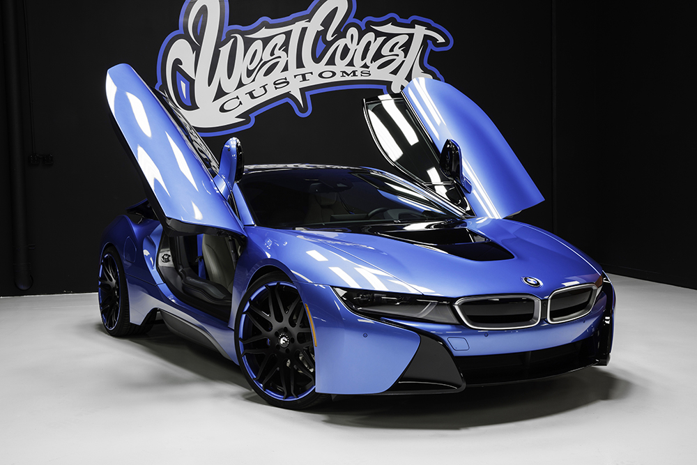 Bmw I8 On Forgiato Wheels By West Coast Customs Rides