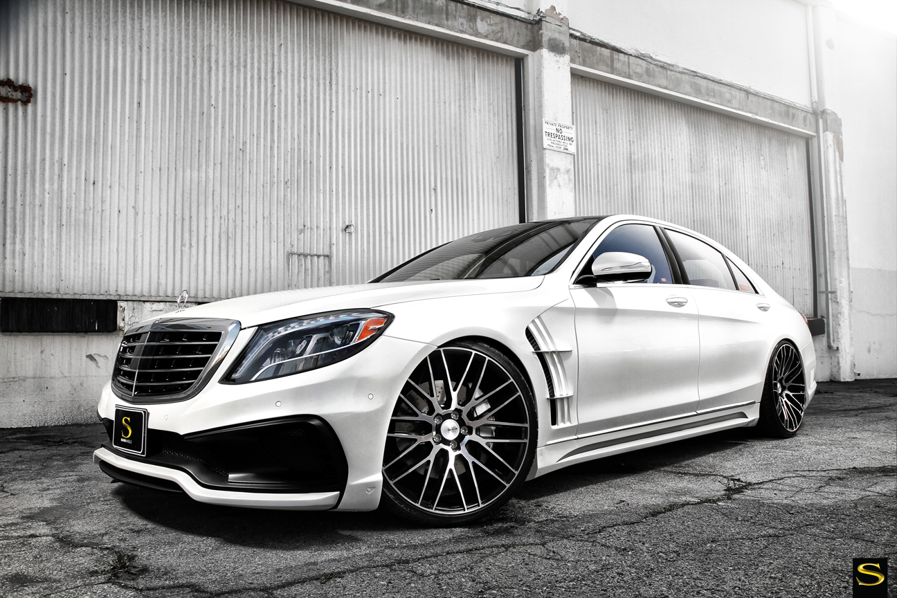 Wald Black Bison Mercedes Benz S550 On Savini Wheels