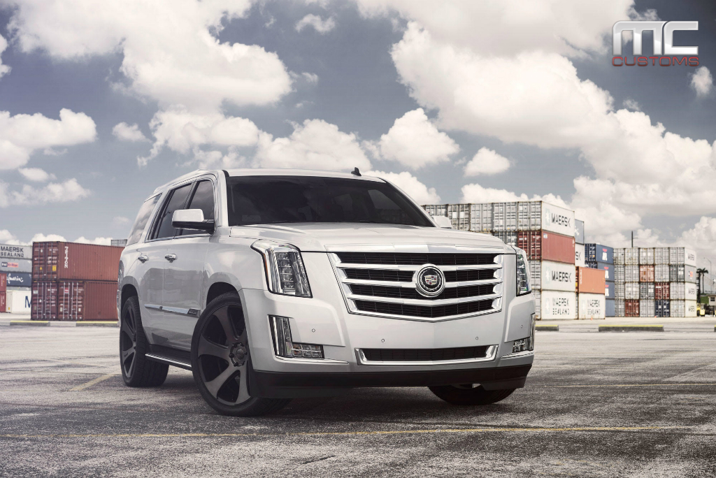 2015 Cadillac Escalade On 24 Inch Dub Wheels Rides Magazine
