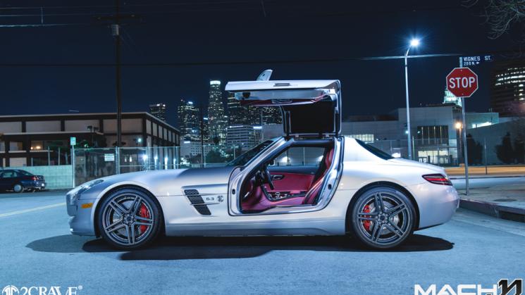 Sls rides magazine for Mercedes benz 745