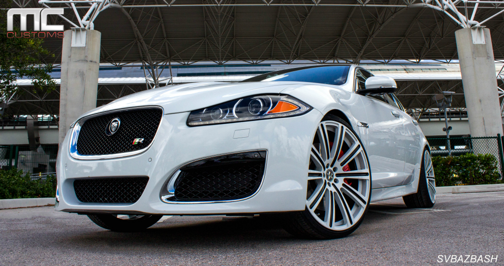 Jaguar Xf R Sport On 22 Inch Vellano Wheels Rides Magazine