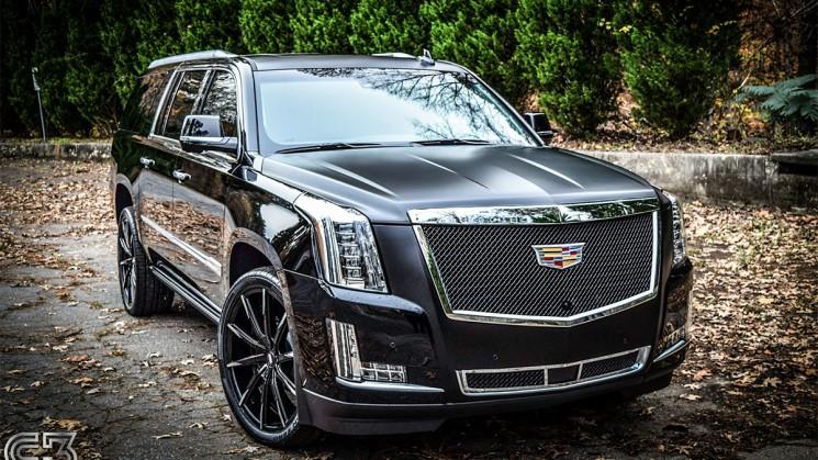 Cadillac On 26 Inch Rims : Escalade rides magazine