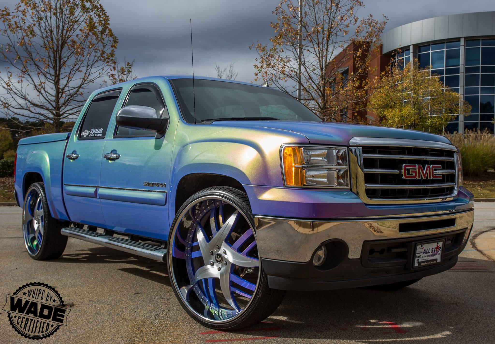 30 Inch Speakers And 30 Inch Rims : Gmc sierra on inch forgiato wheels rides magazine