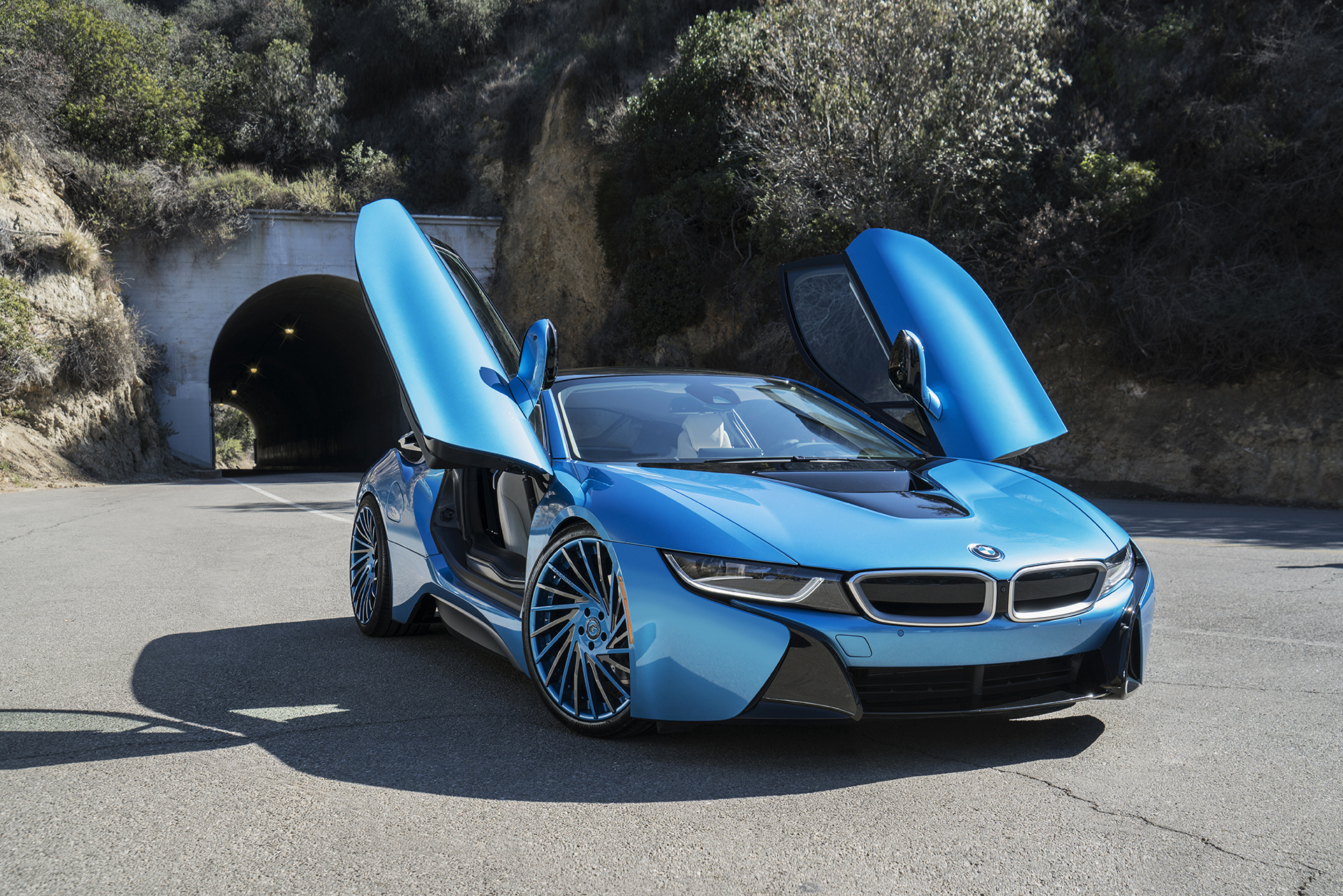 Bmw I8 On 21 Inch Forgiato Wheels Rides Magazine