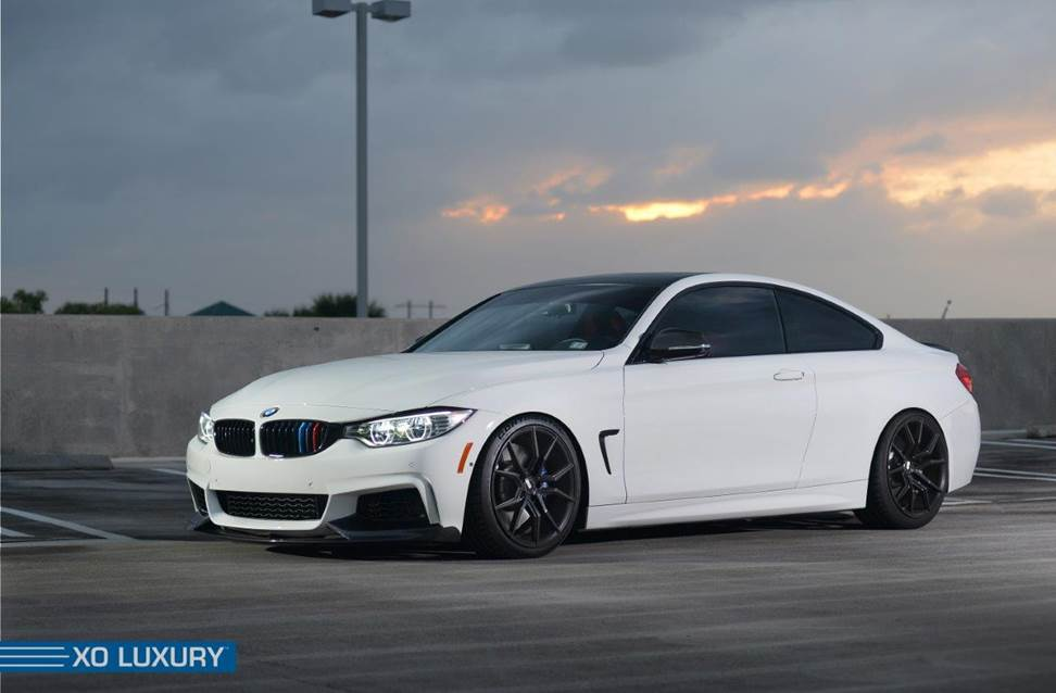 2014 Bmw 435i On 20 Inch Xo Luxury Wheels Rides Magazine