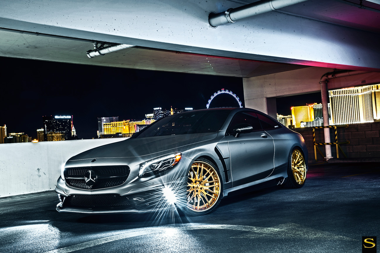 Wald Mercedes Benz S550 Coupe On Savini Wheels Rides