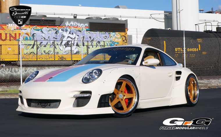 Widebody Porsche 911 Turbo On GFG Wheels