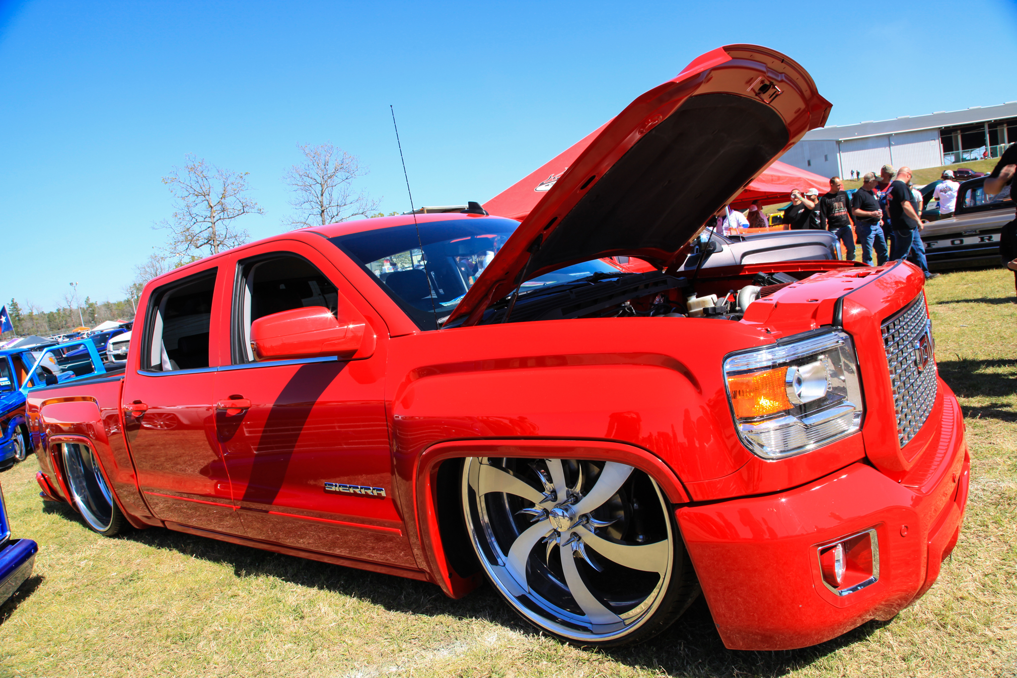 Lone Star Throwdown 2016 Low Trucks Gallery Rides Magazine