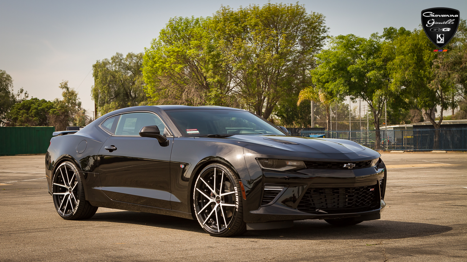 Lowrider Rims And Tires >> 2016 Chevy Camaro SS On 22-Inch Gianelle Wheels - Rides Magazine